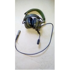CLANSMAN BOWMAN CREWMANS HEADSET ANR CW MIC ETC 7PM PLUG AND LEAD